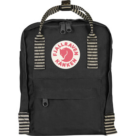 Fjällräven Kånken Mini Selkäreppu Lapset, black-striped